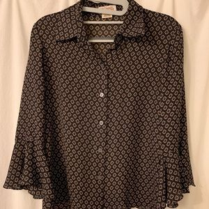 Michael Kors Pattern Blouse